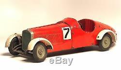 Original Antique 1936 Marklin Märklin 1101 bottom with the 1107 R Baukastenauto