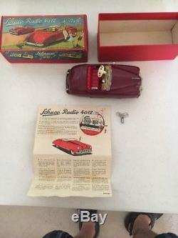 Pristine Vintage Schuco Radio 4012 Car