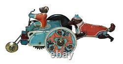 RARE 1920s Prewar Japanese Monkey & Dog Cart Copy of a Walter Stock Toy