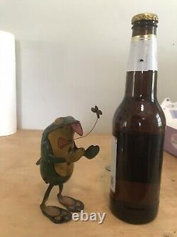 RARE TIN LITHO WIND UP FROG made in Germany