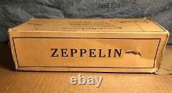 RARE Vintage Marx 10 Flying Zeppelin Tin Wind-up Original Box