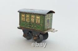 Rare! 1890 ### Issmayer ## Early Stork Leg Clockwork Train ##