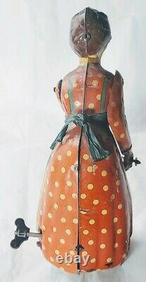 Rare Distler Günthermann Busy Lizzie Tin Litho Toy, Germany c1920s