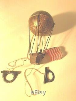 Rare Germany Tin Jupiter Hot Air Balloon Toy Lehmann