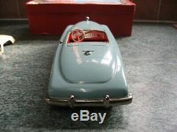 Rare Jnf Duplex Roadster Boxed Germany Tinplate Toy Vintage Tin Car 1950 Wind Up