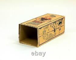 Rare Vintage J. Chein No. 252 Popeye Drummer Tin Toy with Original Box
