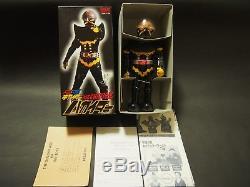 Rare Vintage Kikaider Hakaider Windup Tin Toy with Key Billiken with all leaflet