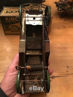 Rare Vintage Marx 1925 King Racer With Original Box