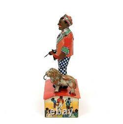 Rare Vintage Marx Charleston Trio Tin Wind-up Toy
