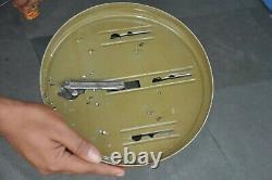 Rare Vintage Wind Up C. K Japan Pre-War Coastal Defence Military Litho Tin Toy