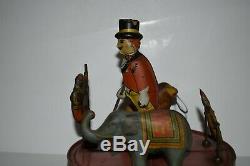 Rare tin windup RING A LING CIRCUS, ORIGINAL MARX 1930's toy, NO RESERVE