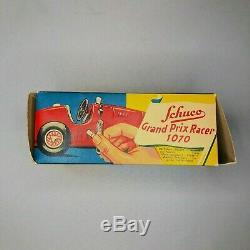 SCHUCO Ferrari #1 Grand Prix Racer 1070 Box Tools Manual Made in US Zone Germany