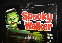SPOOKY WALKER FRANKENSTEIN WIND-UP TOY BEN COOPER VINTAGE 1970'S to 1980's