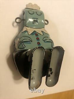 SUPER RARE! Vintage Marx Tin Litho Metal Wind Up Toy Rosie Jetsons Works! Japan