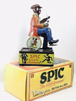 Scarce Vintage Marx, SPIC The Coon Drummer with Box