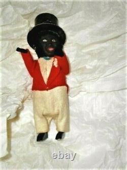 Schuco 929 Black Americana Minstrel Dance Man Wind Up Tin 1929 Works Rare