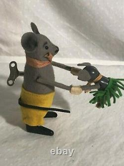 Schuco Dancing Mouse Working and in Very Good Condition