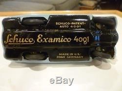 Schuco Examico 4001 Vintage Tin Car with Key