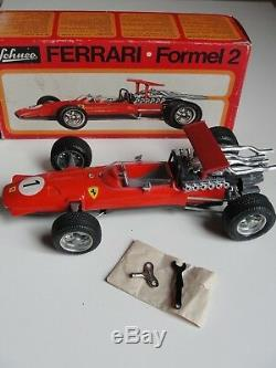 Schuco Ferrari Formel Formula 2 #1073 Vintage Race Car