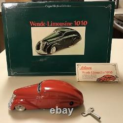 Schuco Germany WENDE-LIMOUSINE 1010 Wind-Up Tin Toy Car MIB`80 RARE
