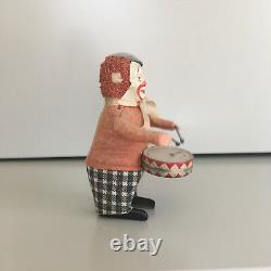 Schuco Solisto Wind-up Drumming Clown With Original Box & Key. Fully Working