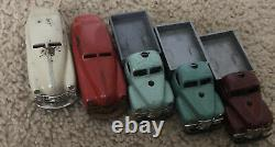 Schuco Vintage Cars-5 Cars-Made In Germany