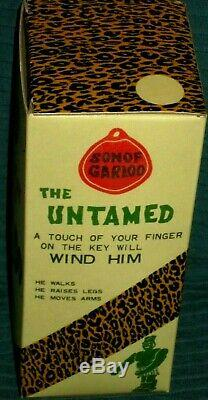 Son of Great Garloo Marx Windup Robot Rare Antique 1960 Toy with Box