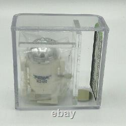 Star Wars 1978 Vintage Takara Wind-Up R2-D2 Sealed Baggie AFA U90 uncirculated