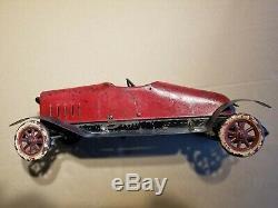 Structo Toys Wind-Up STUTZ BEARCAT ROADSTER NO. 10 1920's