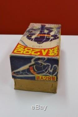 Tetsujin 28 No. 3 Windup Tin Toy Rare Vintage made by Nomura Toy Japan Roboto