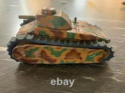 Tippco TCO Panzer Pre WWII Wind Up Tank 1930's Paint is in great condition
