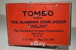Tombo Alabama Jigger Tin Windup Ferdinand Strauss Pat 1910, Works, No Reserve