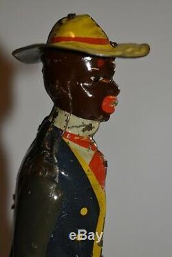 Tombo Jigger Windup Tin Toy, Pat. 1910, Ferdinand Strauss Co, No Reserve