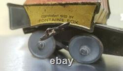 Toonerville Trolley Antique 1922 Tin WInd Up Toy (fair to good condition)