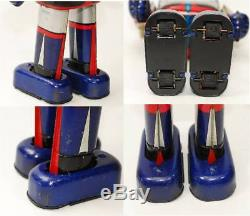 UFO Robot Grendizer 1970's Vintage Japanese Wind up Tin Toy Popy Go Nagai