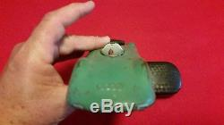 VINTAGE 1940s TOYS US ZONE GERMANY RARE TIN WIND UP AUDI SPEED RECORD RACER TOY