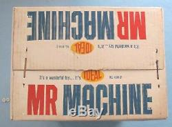 VINTAGE MR MACHINE IDEAL 1960's BOXED INSTRUCTIONS WRENCH ORIGINAL