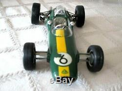 VINTAGE SCHUCO LOTUS CLIMAX 33 FORMULA 1 RACER- WithUP-BOX # 1071-GERMANY TOY-9