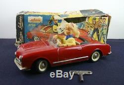 VINTAGE! Schuco Texi 5735 Windup Alfa Romeo Car withBox NICE