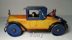 VINTAGE TIN LITHO WINDUP MARX ROYAL COUPE DELUXE VERSION with RUMBLE SEAT