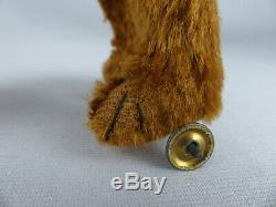 Very Rare Antique Bing German Mechanical Toy Windup Teddy Bear Rolling Ball 1913