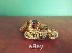 Very Rare Variant 1930's SS #44 Saalheimer & Strauss Military Sidecar Motorcycle