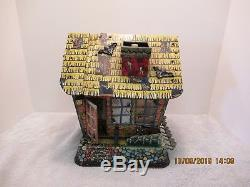 Vintage1963 Marx Hootin' Hollow Haunted Housebattery Operatedtin Litho Toy