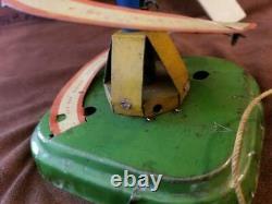 Vintage 1906 Fernand Martin Mystery Ball Clockwork Driven Table Top Tin Toy