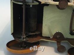 Vintage 1930 Marx Tin Litho Windup Toylands Farm Products Toy