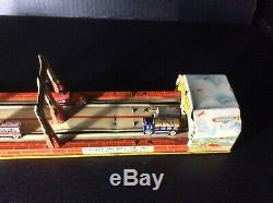 Vintage 1930's Lincoln tunnel tin toy by UNIQUE ART MFG. INC USA, WIND UP