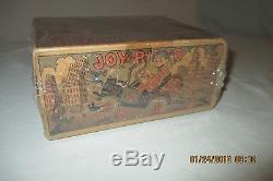 Vintage 1930s MARX Toys JOY RIDER Wind Up Tin Litho Toy Car withBox