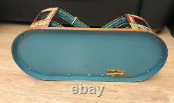 Vintage 1949 J. CHEIN Roller Coaster Wind Up with 1 Car Made in USA