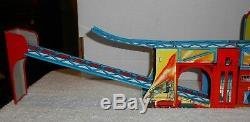Vintage 1950's Technofix Mechanically Operated Coalmine Tin Wind-Up #294