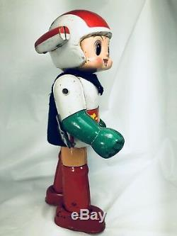Vintage 1962 Tin litho Kun Astro boy Wind Up Japan SUPERHERO COMIC KUN / NOMURA